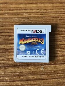 Madagascar 3: Europe's Most Wanted (Nintendo 3DS) Cartridge Only! GENUINE!