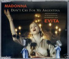 MADONNA - DON'T CRY FOR ME ARGENTINA / SANTA EVITA / LATIN CHANT 1996 W0384CD1
