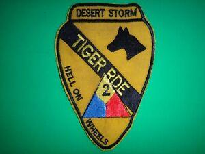 Desert Storm Toppa US 1st Cavalleria Div. Tigre Brigata 2nd Armored Hell A Ruote