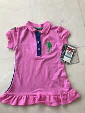 Girl's US Polo Assn, Dress+Diper, Size 6/9M
