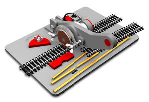 Proses PTC-200-PS Train Track / Metal Rod Precision Electric Cutter with UK PSU