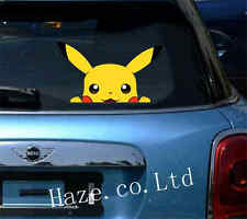 Pokemon Pikachu Car Removable Wall Stickers Home Decal Decor 1pc