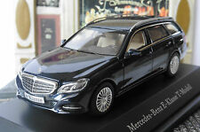 MERCEDES E CLASS T MODELL S212 2013 CANVASIT BLUE METAL KYOSHO B66960191 1/43