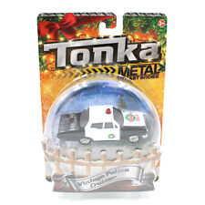 Tonka Holiday Vintage Police Cruiser, Metal Diecast Bodies Stocking Stuffer