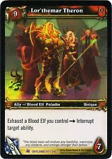 WOW Lor'themar Theron 171/246 OUTLAND NEW PROMO MINT FOIL ENG WORLD OF WARCRAFT