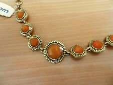 Lucky Brand Gold-Tone Semi precious Stone Bracelet