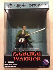 Samurai Warrior Japanese Sculpture/Figurine Green