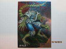 1995 Fleer Ultra Premiere Spider-Man - Golden Web - Lizard ( 5 of 9 )
