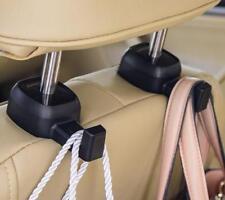 2X Car Back Seat Headrest Hooks Purse Bag Cloth Organizer Holder Tidy Car Hanger