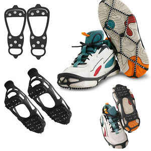 Anti Slip Ice Crampons Cleats Snow Grips Spikes Grippers For Shoes Boot Overshoe