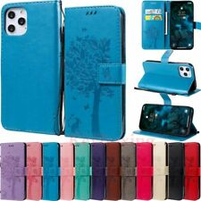 For iPhone 12 Pro Max Mini 11 XR SE 6s 7 8 Wallet Flip Leather Phone Case Cover