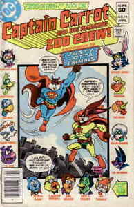 Captain Carrot and His Amazing Zoo Crew #14 (Newsstand) VF/NM; DC | save on ship