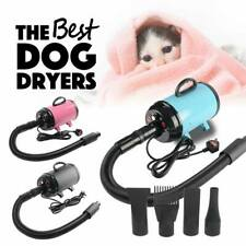 More details for 2800w pet dog blower dryer hair dryer blaster grooming adjustable heating & wind