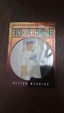 Peyton Manning Colts 2007 Topps Chrome Ring of Honor