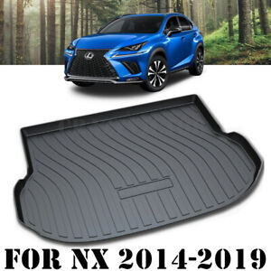 Heavy Duty Cargo Mat Boot Liner Luggage Tray for Lexus NX200t NX300 NX300h 14-21