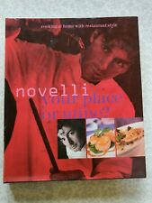 """Novelli your place or mine..""""USED LIKE NEW""""....GASTRONOMY"""