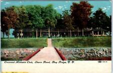 Bay Ridge, Brooklyn, New York Ny Crescent Atletic Club Shore Road Postcard