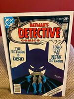 Detective Comics #472 FN+ Batman Bronze Age DC Comics