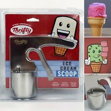 Thrifty Ice Cream Scooper Stainless Steel RiteAid Limited Edition, No Mess Scoop
