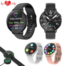 Bluetooth Smart Watch Health Monitor Calories Sport Wristband for iPhone Android