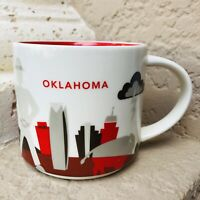 Starbucks OKLAHOMA City State Series Ceramic Coffee Mug 14 oz. BEEN THERE
