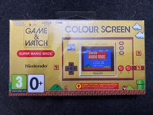 BRAND NEW Nintendo Game And Watch Super Mario Bros 35th Anniversary