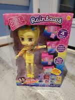Brand New Boxy Girls Limited Edition Rainbows Doll - Goldie (Yellow Color)