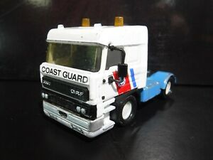Matchbox Superkings DAF 3300 Space Cab Coast Guard tractor only K 126