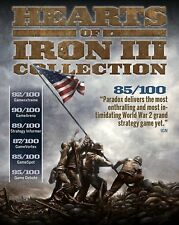 HEARTS OF IRON III 3 COLLECTION (GAME + 19 DLC) - Steam chiave key PC - ROW