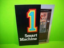 Moyer Diebel CH2002 Original NOS Coin-Op Vending Machine Promo Flyer Foldout