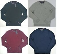 NWT Men's Tommy Hilfiger  Pima Cotton Cashmere Pullover Sweater