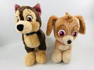 "Build A Bear Paw Patrol Nickelodeon Skye & Chase Plush Stuffed Animal 12"" Sounds"
