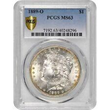 1889-O MORGAN SILVER DOLLAR PCGS MS-63