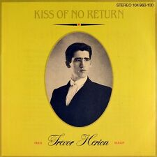 "7"" TREVOR HERION Kiss Of No Return THOMAS DOLBY ISLAND New Wave D 1982 like NEW!"