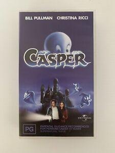 Casper (1995) CIC Christina Ricci CULT FAMILY FANTASY VHS Bill Pullman Free Post