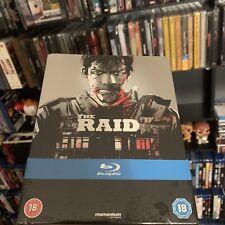 The Raid (Play.com UK Exclusive) Blu-Ray Steelbook Debossed art by JOCK