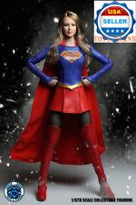 1/6 SUPERGIRL Head Sculpt Uniform Clothing PHICEN Seamless Figure Set A ❶USA❶