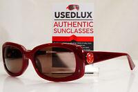 Authentic EMPORIO ARMANI Womens Vintage Sunglasses Burgundy EA 9591 LHFL3 27664