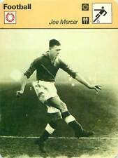 FICHE CARD: Joseph «Joe» Mercer UNITED KINGDOM Milieu de terrain FOOTBALL 1970s