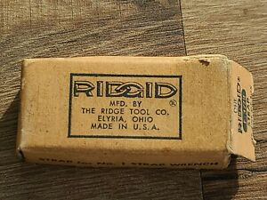Vintage Replacement Strap For Ridgid  No. 1 Strap Wrench E-3779