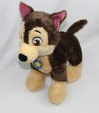 "Build A Bear Bab Paw Patrol Chase Police Brown Puppy Dog Plush Stuffed Toy 16"""