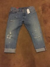Levis 501ct Original Fit Customized&Tapered women cropped3/4length BNWT RRP£115