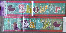 FOIL BABY SHOWER BANNER
