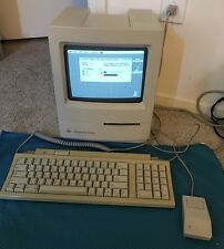 Apple Macintosh Classic March 1991 Vintage Computer Model M0420 Works Great!