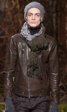John Varvatos Collection Biker Leather Jacket. Size EU 50 USA 40 Limited 159BNWT