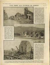 Ruins Gorizia Goritz Gorice Friuli-Venezia Giulia Lucinico War Isonzo 1916 WWI