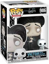 Funko Pop! Movies: Corpse Bride - Victor w/ Scraps Vinyl Figure w/ Protector