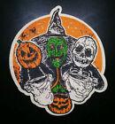 PATCH - 3 Halloween Trick or Treaters HORROR movie III witch masks jackolantern