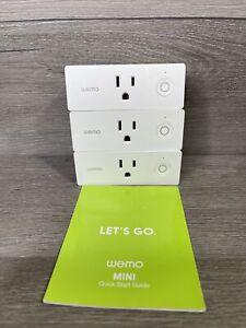 Wemo Mini WiFi F7C063 Smart Plug - White