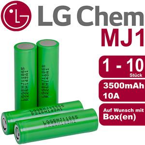 LG MJ1 Akku ⭐ MJ1 18650 Akkuzelle ⭐ LG INR18650MJ1 mit 3500 mAh ⭐ SONDERANGEBOT